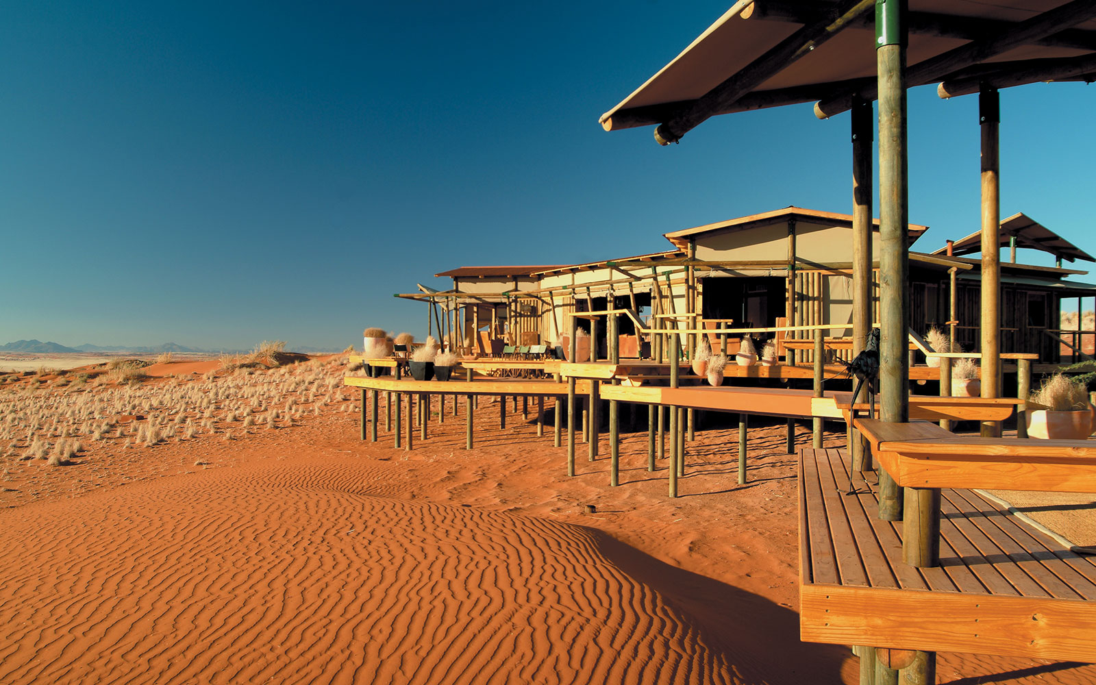Wolwedans Dunes Lodge in Namibia