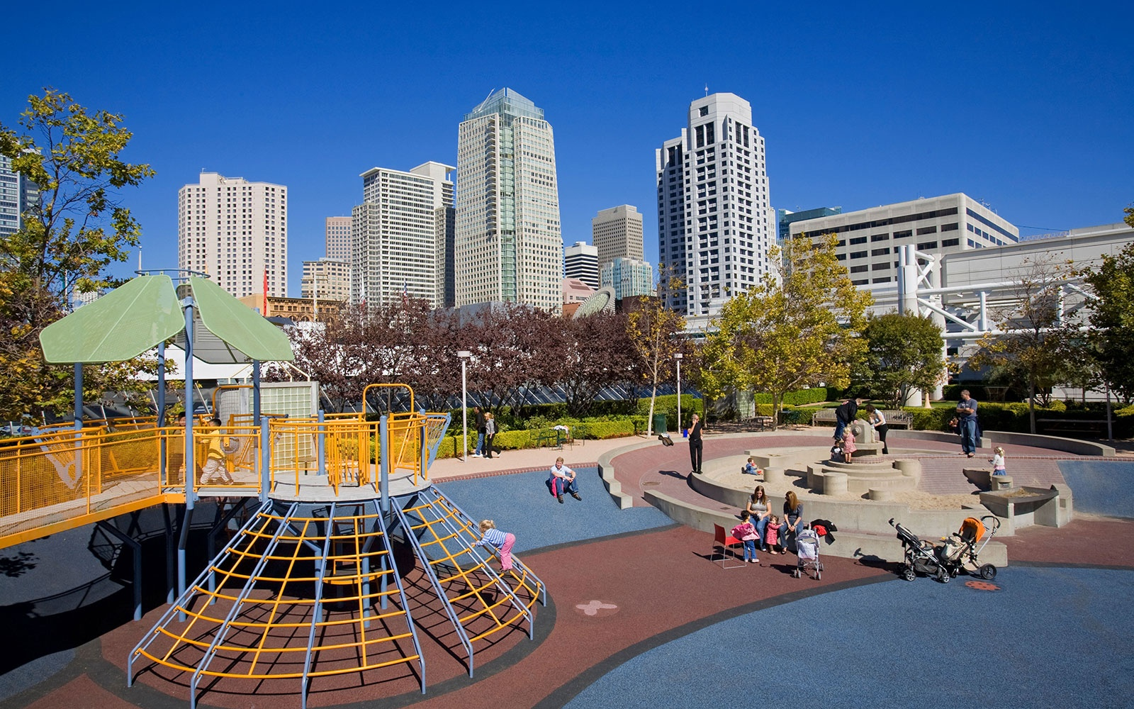 World 39 s coolest playgrounds travel leisure Yerba buena gardens san francisco