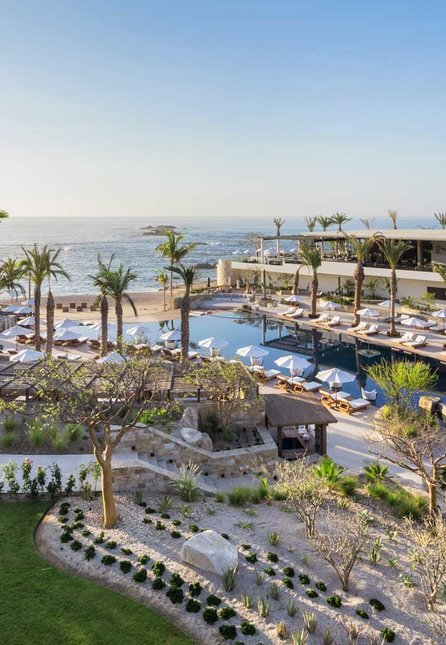 Overview of the Chileno Bay Resort