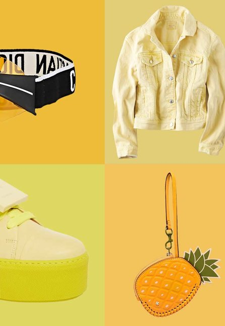 Yellow Accessories for Summer