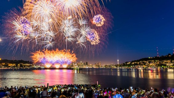 Fourth of July, Seattle, Washington