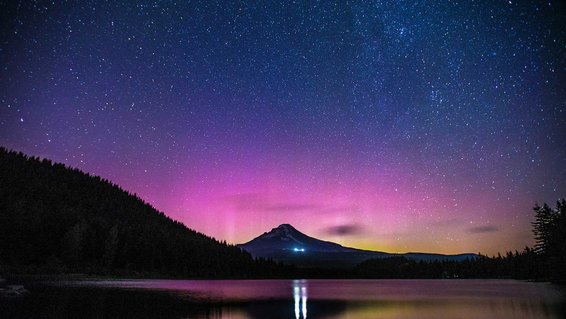 Aurora Borealis in the U.S.