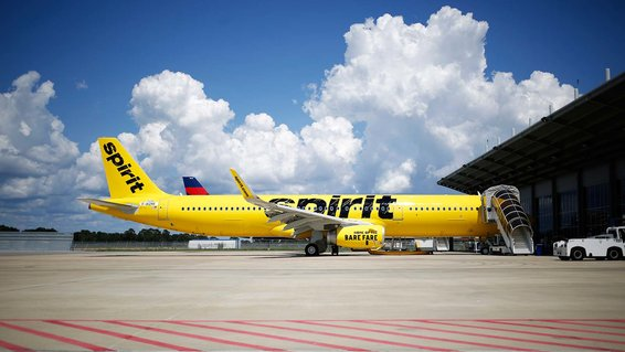 Spirit Airlines Airplane International Flight Services