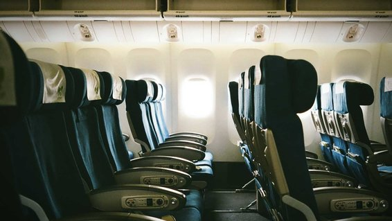 Empty Seats In Airplane