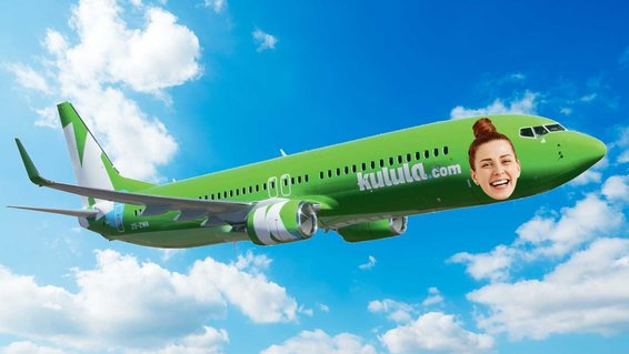 Get your face on a Kulala Plane