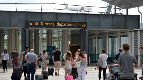 London's Gatwick Airport South Terminal