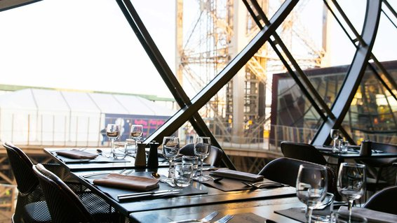 Have a meal inside of the Eiffel Tower at the 58 Tour Eiffel restaurant.