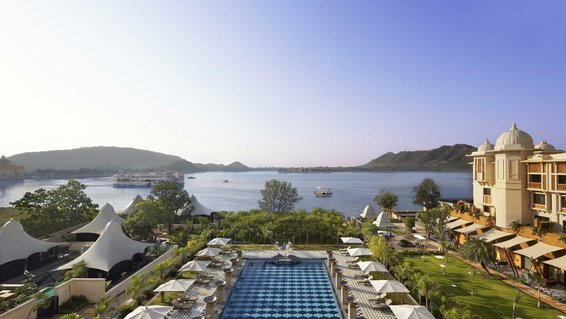 The World's Best Hotels, according to the readers of Travel + Leisure (shown: Leela Palace Udaipur)