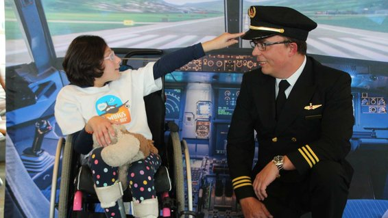 The Arc, Wings for All Program at Dane County Airport