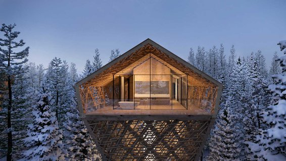Peter Pichler Architecture's Austrian Tree Suites