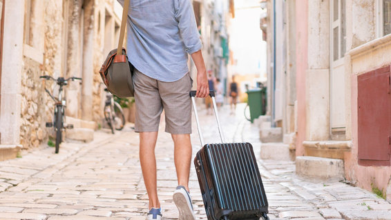 Lightweight travel suitcases luggage