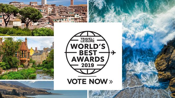 Travel + Leisure's World's Best Survey 2019