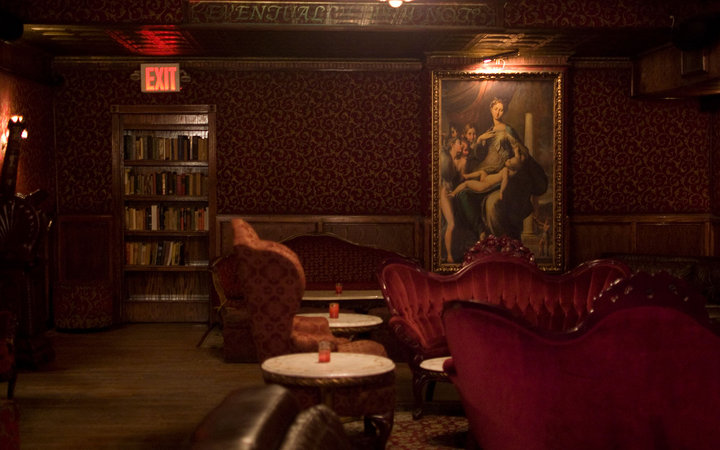 15 best hidden bars and restaurants in nyc travel leisure for Best dining rooms nyc