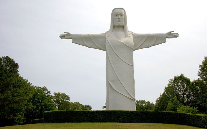Arkansas Christ Of The Ozarks Travel Leisure