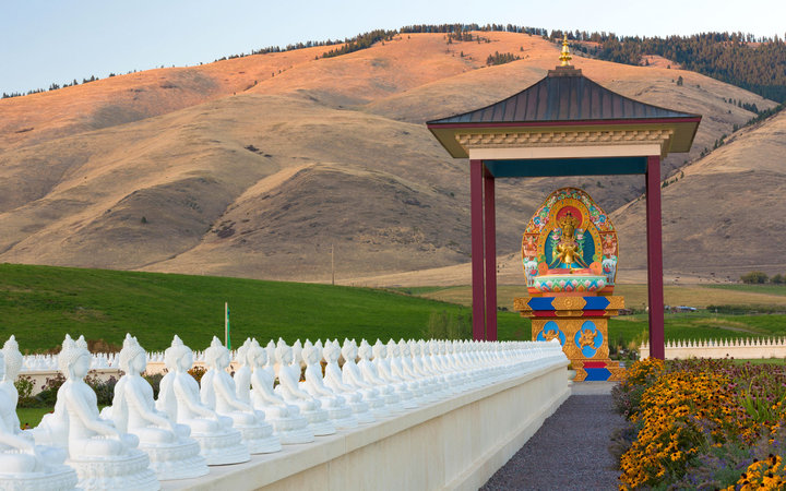 Montana garden of one thousand buddhas travel leisure Garden of one thousand buddhas