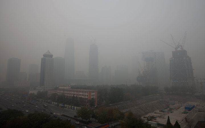 Charging for Clean Air China Smog