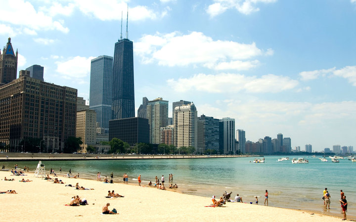 Underrated Places Chicago Ohio Street Beach