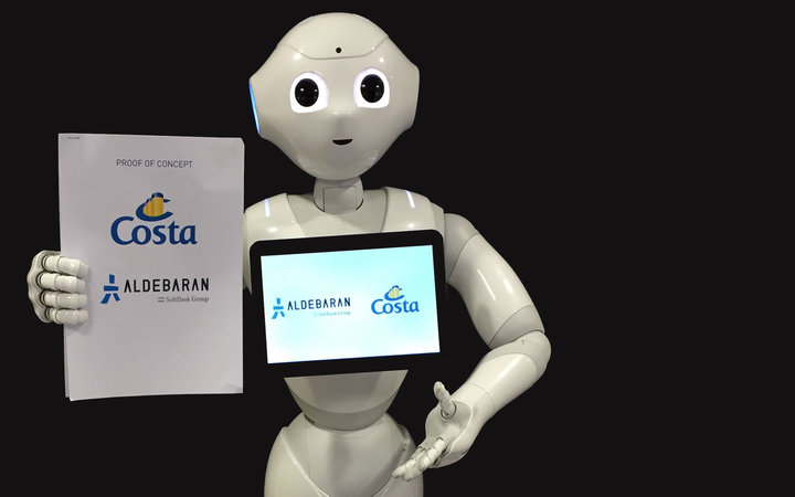 Costa Cruise Robot Pepper