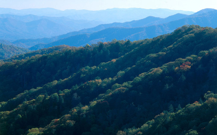 Appalachian Mountains in Georgia