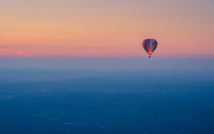 Valentines Day Melbourne Hot Air Balloon