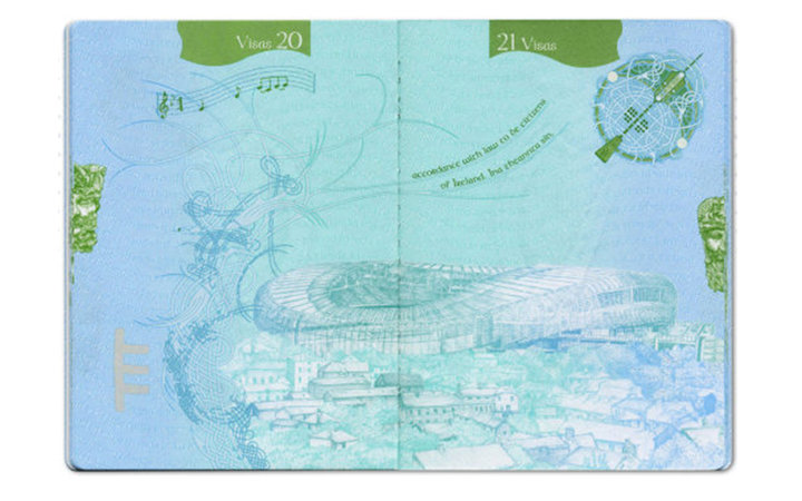 passport design