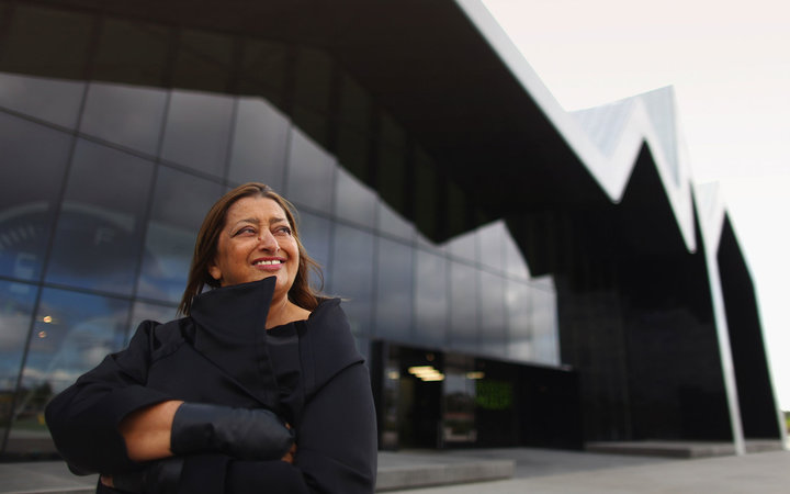 GLASGOW, SCOTLAND - JUNE 09:  Zaha Hadid, world famous architect visits the Riverside Museum, her first major public commission in the UK on June 9, 2011 in Glasgow, Scotland. The ?74million Riverside Museum will open to the public on 21 June. It has been