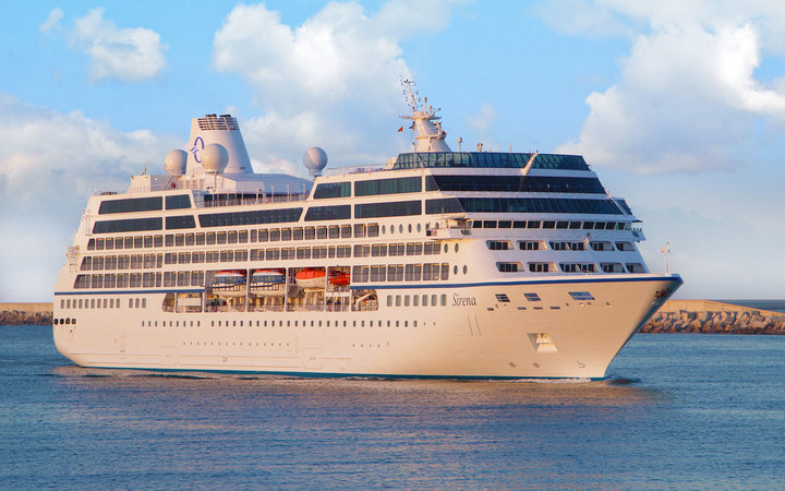 Oceania Cruises launch experience Sirena