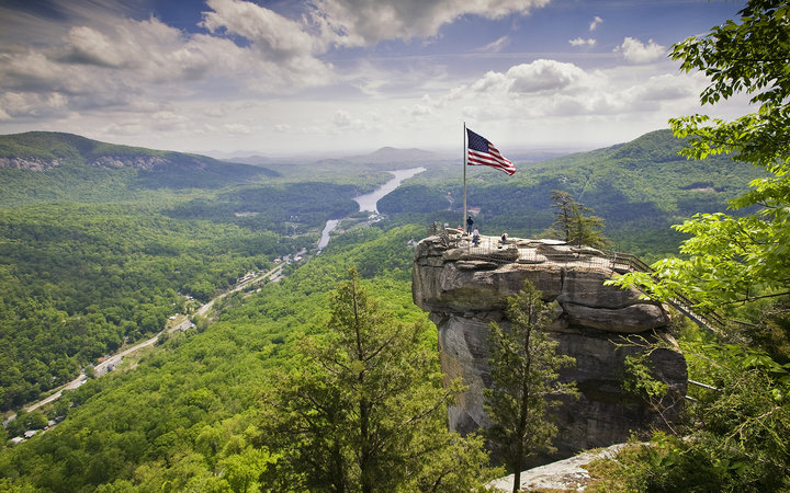 Chimney Rock State Park in Asheville