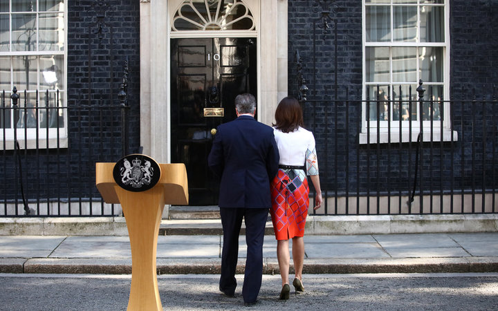 David Cameron Resigns After Brexit Vote Leave