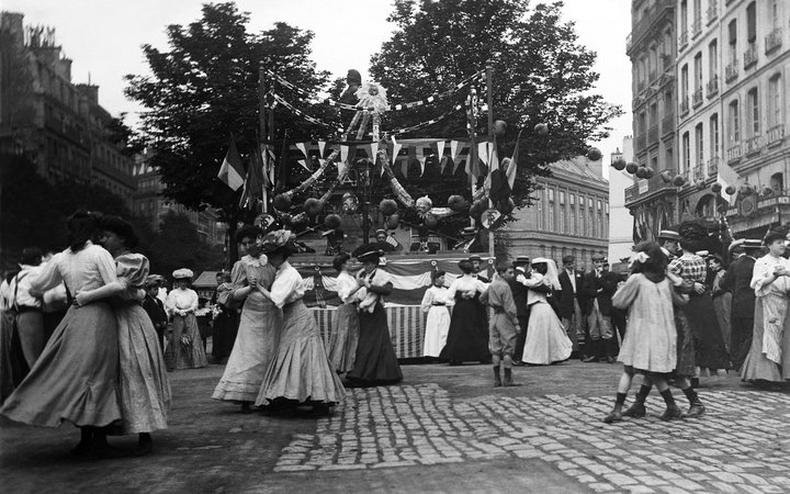 Vintage Bastille Day Photos