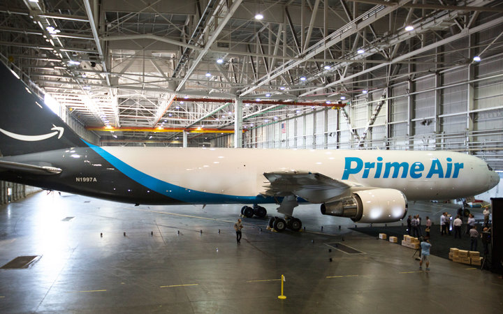 See Amazon's New 'Prime Air' Jumbo Jet