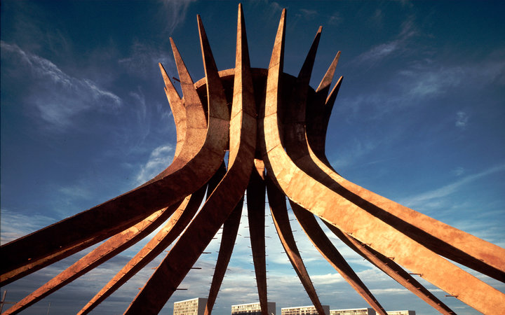 Futuristic Architecture of Brazil's Past