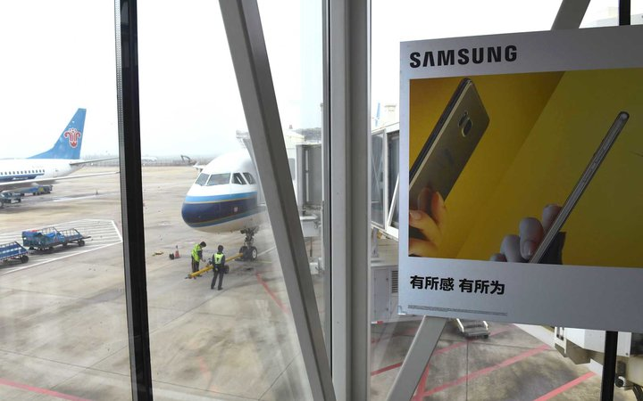 Airlines Add Fire Containment Bags for Samsung Phones