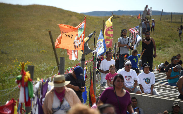 Why Your Facebook Friends Are Checking In to Standing Rock