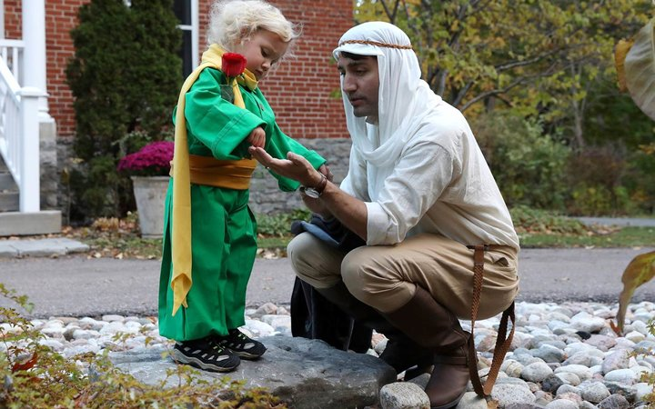 Canada's first family celebrates Halloween