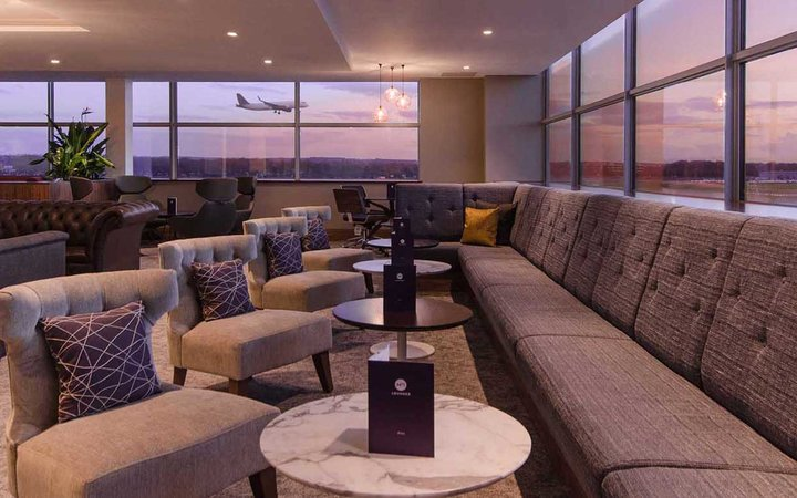 No. 1 Lounge at Gatwick Airport