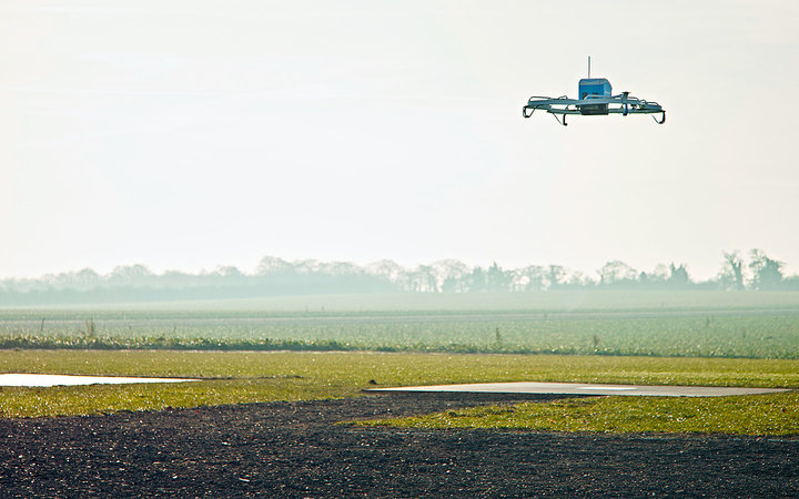 Amazon Delivering Stuff With Drones Is Actually Happening