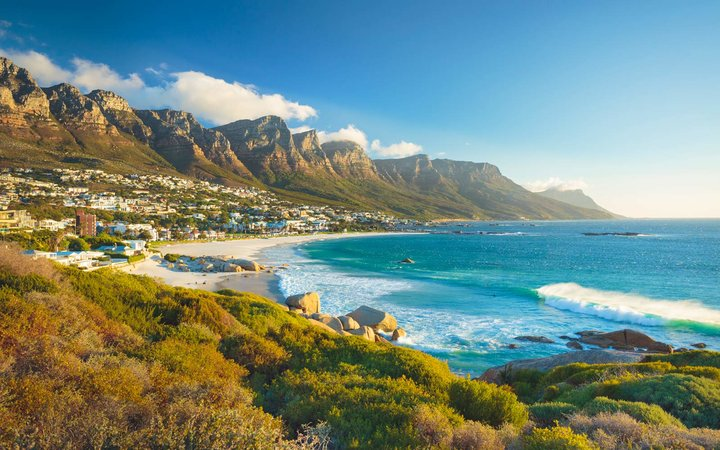 Twelve Apostles mountain, Camps Bay, Cape Town, South Africa