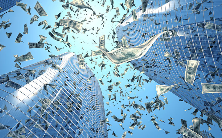 Money Falling From the Sky in This City