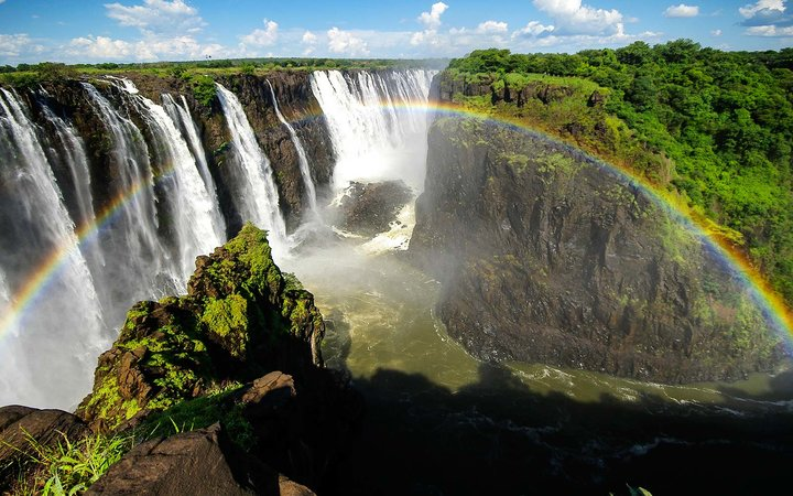 Two-For-One Deals: Victoria Falls in Zimbabwe.