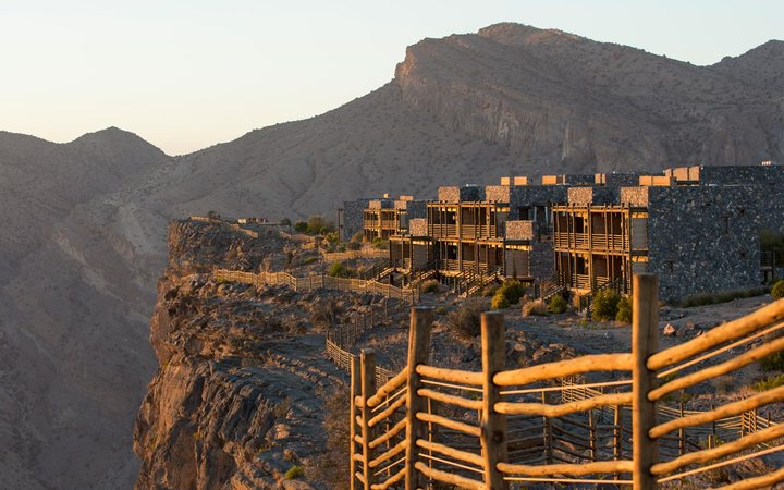 Cliffside, Alila Jabal Akhdar