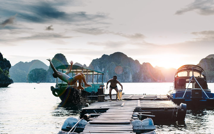 A PlacePass experience in Ha Long Bay, Vietnam.