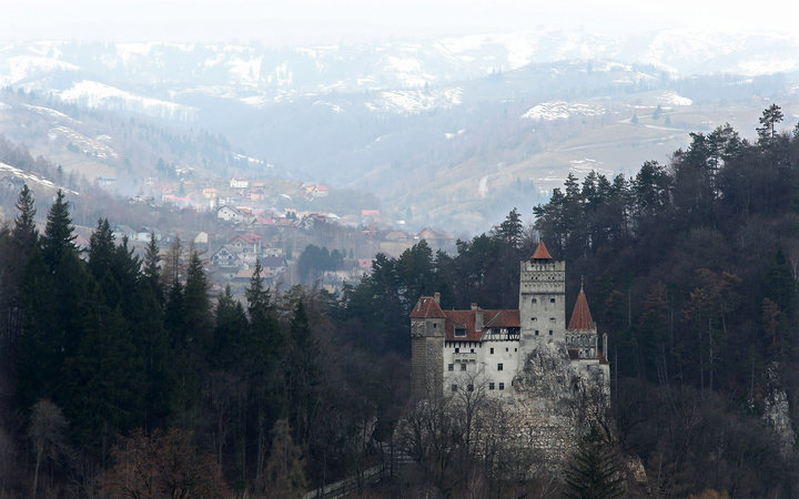 You Can Get Chocolate Eggs from the Easter Bunny at Dracula's Castle