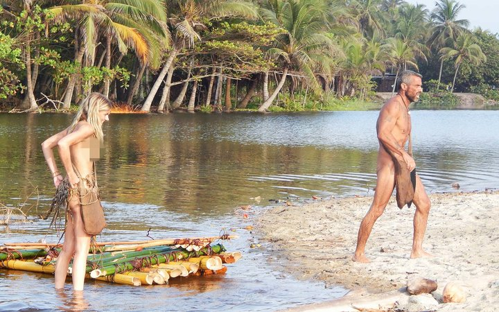 Colombia Naked and Afraid TV show Discovery Channel
