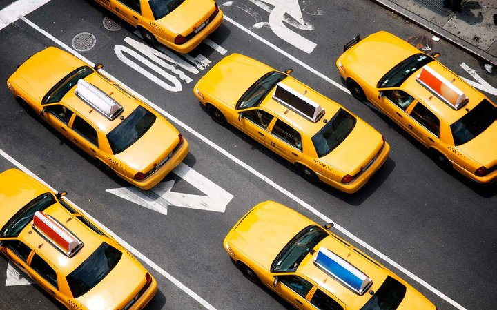 Why Are Taxi Cabs Yellow Broadway New York City