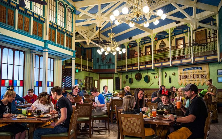 Dining at Walt Disney World