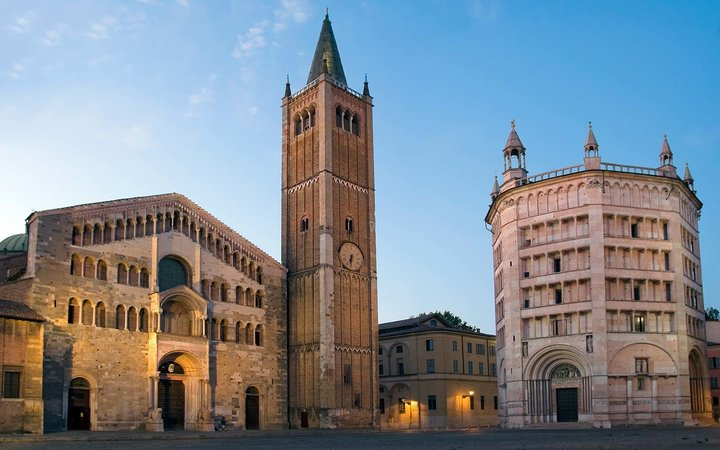 Valentina Bertazzoni Parma Italy Guide Piazza Duomo in the historical town centre