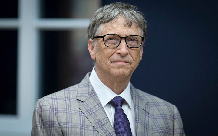 POTSDAM, GERMANY - JANUARY 20: Bill Gates attends the official opening of the Barberini Museum on January 20, 2017 in Potsdam, Germany. The Barberini, patronized by billionaire Hasso Plattner, features works by Monet, Renoir and Caillebotte among others.