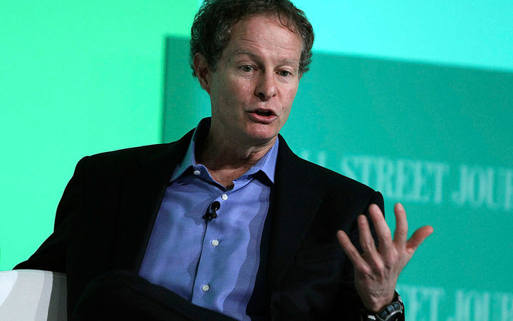 John Mackey, co-chief executive officer of Whole Foods Market Inc., speaks during the Wall Street Journal ECO:nomics  Creating Environmental Capital  conference in Santa Barbara, California, U.S., on Thursday, March 3, 2011. The event aims to bring togeth