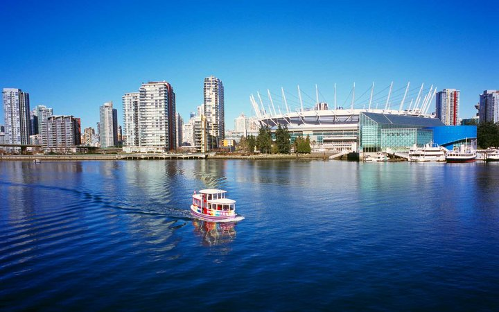 Harbour in Vancouver